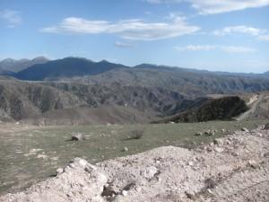 Grenze nach Nagorny Karabach