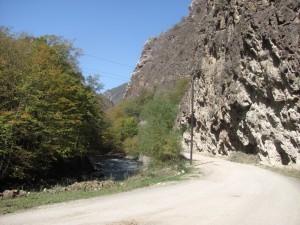 Strecke nach Dadivank