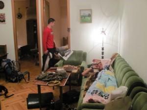 in Muttis Wohnzimmer