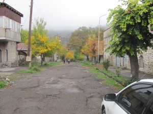 Herbst in Goris