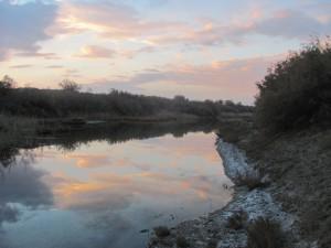 Fluss in der Wueste
