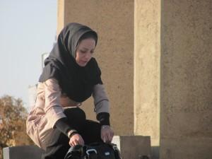 Frau im Iran