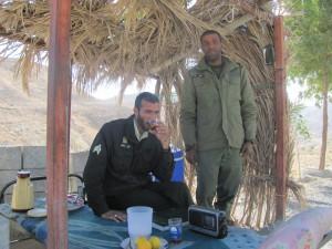 iranischer Polizist und Soldat