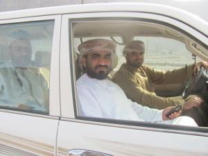 Omanis im Auto