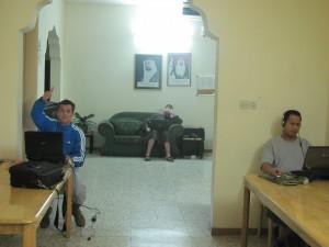 im Hostel in Sharjah
