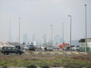 Dubai am Horizont