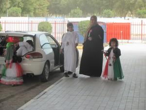 Kuwaitis zum Fest