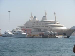 des Sultans Yacht