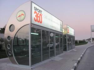 Bushaltestelle Dubai